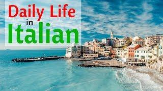 Learn Italian For Daily Life 😎130 Daily Italian Phrases 👍 English Italian