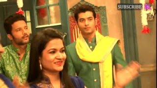 Kasam Tere Pyaar Ki - 7th April 2016 - On Location Shoot