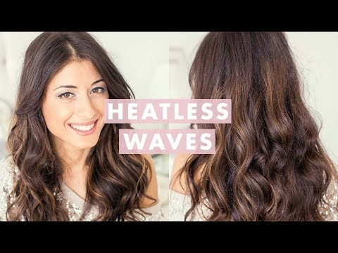 Heatless Waves Hair Tutorial