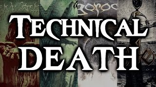 TECHNICAL DEATH METAL |  20 BEST BANDS
