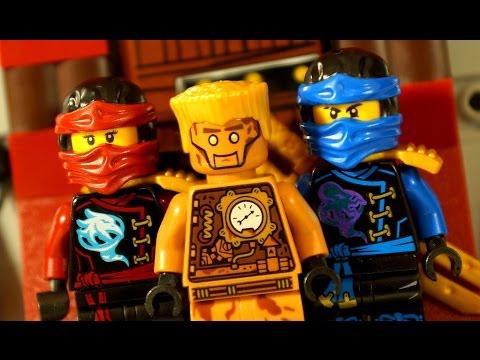КОНКУРС ЛЕГО НИНДЗЯГО !!! Lego Ninjago 70594 Осада Маяка + Мультики - Видео Обзор на русском языке