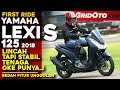 Yamaha Lexi S 2018 | First Ride Review | GridOto MP3