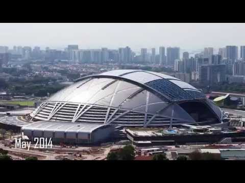 Making of the Singapore Sports Hub