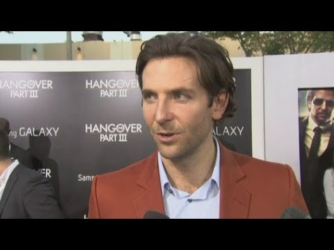 The Hangover Part III: Bradley Cooper, Zach Galifianakis and Ed Helms get emotional at premiere