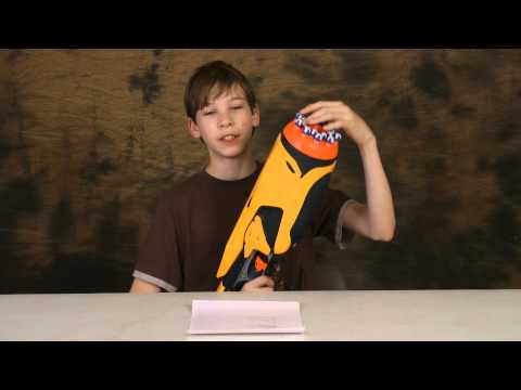 Nerf Swarmfire Dart Tag Review and Shooting