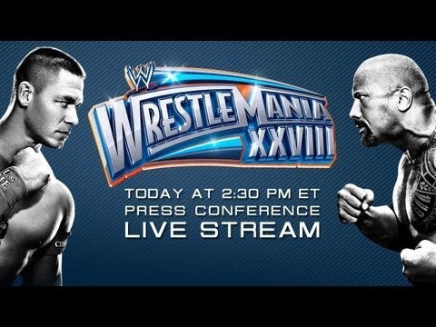 Watch the WrestleMania 28 Press Conference from Miami Florida Replay
