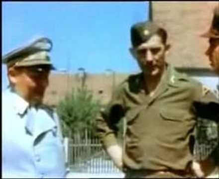 1945 Goering's First Day as Prisoner - Amateur Color Film
