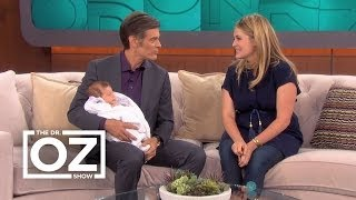 Dr. Oz Welcomes Granddaughter Philomena