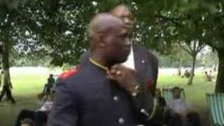 Video: Robert Mugabe is my brother from Zimbabwe. Who made White Supremacy policeman of the World? - Leo Muhammad (NOI)