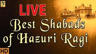 Live Kirtan From Hazuri Ragi   Darbar Sahib   Shabad Gurbani   Non Stop Kirtan