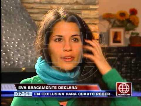 América Noticias - 290913 - Eva Bracamonte habla por primera vez tras salir de prisión