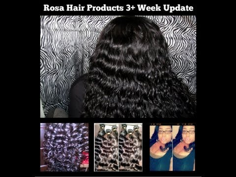 THE TRUTH:Rosa Hair Products 3+ Week Update+Pictures On My Facebook Page