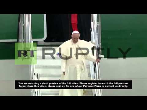 Brazil: Pope touches down in Brazil for World Youth Day