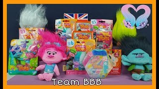 TROLLS WORLD TOUR MOVIE 2 Toy Unboxing Special! Blind Bags Mystery Surprise Figure Trading Cards