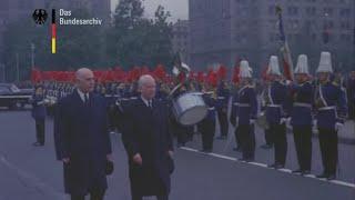 Chile 1964 - Visita del presidente alemán Heinrich Lübke