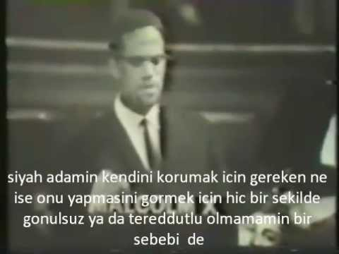 Malcolm X'in Oxford konu�mas�