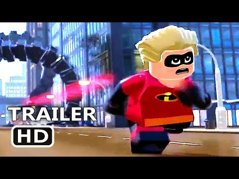 LEGO The Incredibles Official Trailer # 2 (2018)
