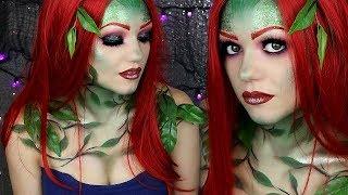 Poison Ivy Makeup Tutorial | MEET MY BEST FRIEND | Beautybyjosiek