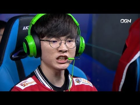 When Faker Looks Pissed Off - 2018 LCK Spring W1D2