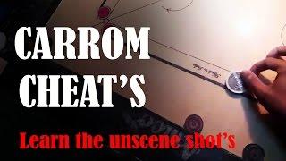 CARROM CHEAT'S   BY ADITYA PADAWE   Learn The Unscene Shots..