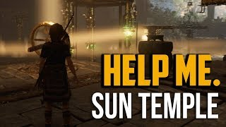 Shadow of the Tomb Raider : How to Beat Temple of the Sun Challenge Tomb