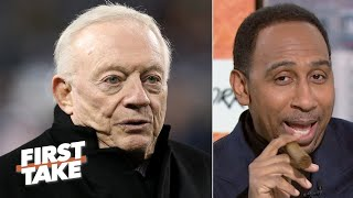 Jerry Jones will regret keeping Jason Garrett, he's had 10 years! - Stephen A. | First Take