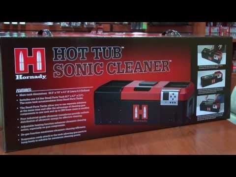 Hornady Hot Tub Sonic Cleaner Promo