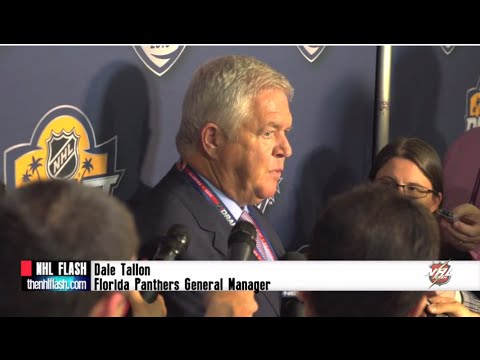 Florida Panthers GM Dale Tallon - Post-Draft