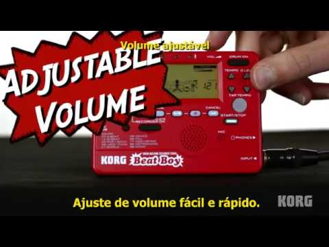 KORG® Beat Boy - Drum Machine / Gravador / Afinador
