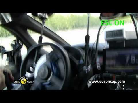 Euro NCAP | Citroen DS5 | 2011 | Электронный контроль устойчивости