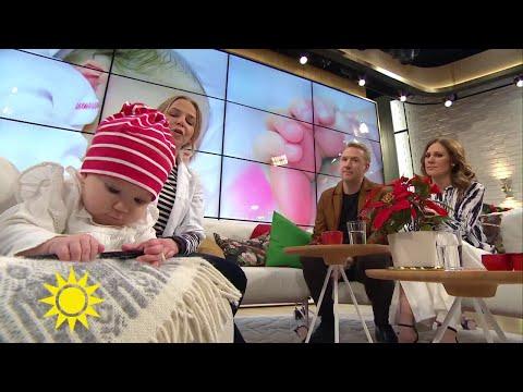 Därför är det viktigt för bebisen att styrketräna - Nyhetsmorgon (TV4)