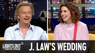 Who's Invited to Jennifer Lawrence's Wedding? (feat. Vanessa Bayer) - Lights Out with David Spade