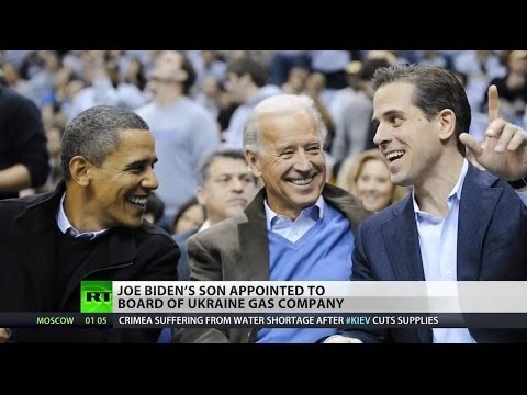 Joe Biden's son joins board of Ukraine gas giant