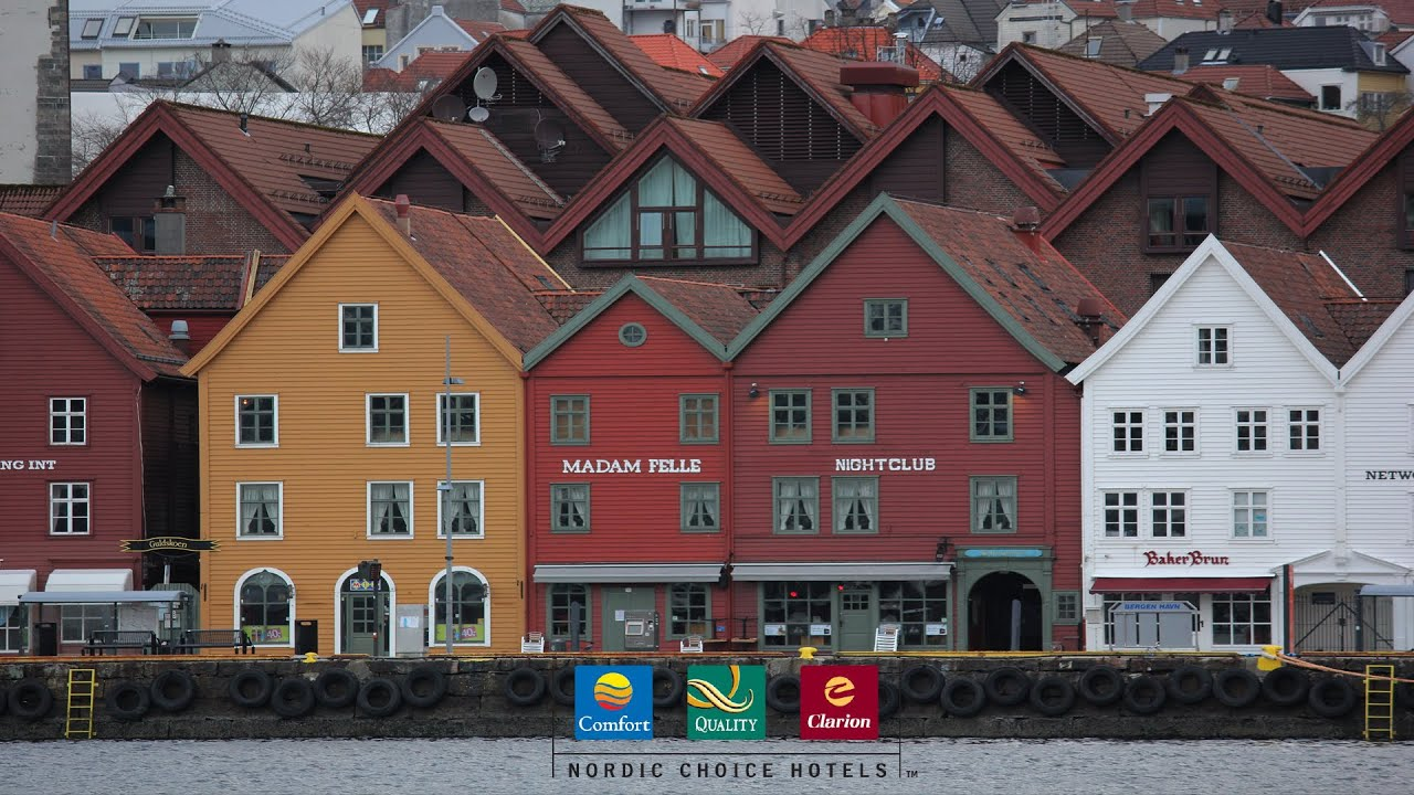 Nordic choice hotels bergen youtube for Choice hotels