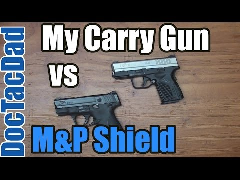 Shield Vs XDS-9 ...M And P Shield Vs Xds