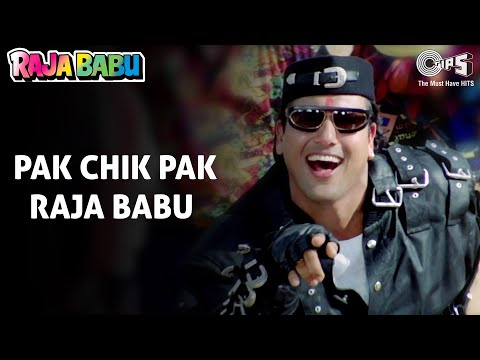 Pak Chik Pak - Raja Babu - Govinda & Karishma Kapoor - Full Song video