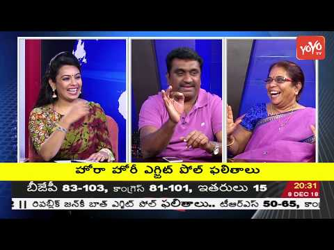 Telangana Political Analysts Debate on Telangana Exit Polls | Lagadapati Survey | YOYO TV Channel