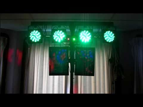 From The Ground Up   - An Awesome DMX Light Show  Part  3