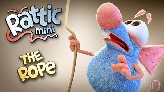 Funny Cartoon | Rattic Mini–The Rope | Funny Cartoons For Children & Kids | Funny Kids Videos