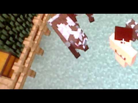 Hombre Cojiendo Vacas En Minecraft