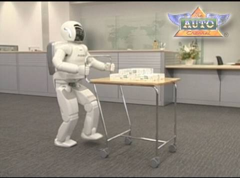 Fantastic New Video of Honda ASIMO Robot