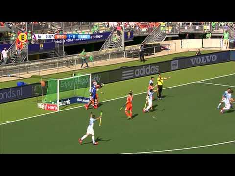 WK hockey: Mink van der Weerden leidt Oranje langs Argentini...