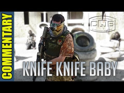 GoPro: Paintball - Out of Paint?  Rubber Knife!