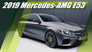 New 2019 Mercedes-AMG E53 4MATIC Sedan & Wagon