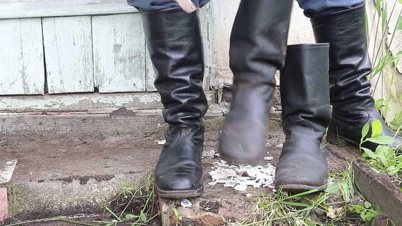 Soviet Officer Boots to Soviet Officer Boots