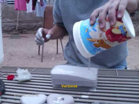 Fabricando Moldes para Plomadas de Pesca (Making molds fishing sinkers) Music Videos
