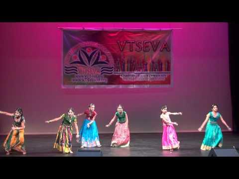 Telugu Dance Medley : Choregraphed by Sahiti Solasa  Tarangani...
