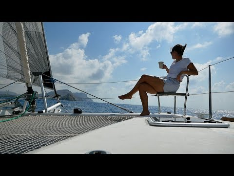 LAGOON CATAMARANS: We Finally Went To The 'Dark Side'! | Sailing Vlog 81 | Sailing Ruby Rose