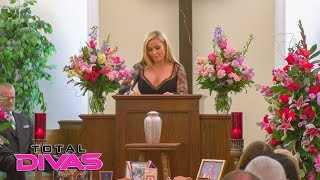"Natalya delivers Jim ""The Anvil"" Neidhart's eulogy: Total Divas, Nov. 28, 2018"