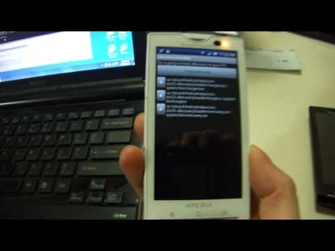 [OBSOLETE] xRecovery Installation Using ADB & BusyBox on the Xperia X10